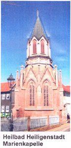 Ansichtskarte von Heilbad Heiligenstadt Motiv Kapelle mit Umschlag, DIN lang, farbig