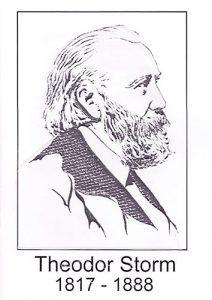 Informationskarte Theodor Storm DIN A5, s/w